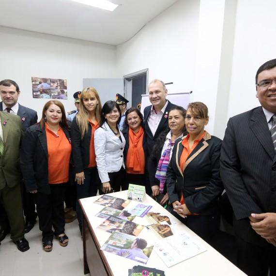 Inauguración y ampliación del Centro de Referencia de la Mujer