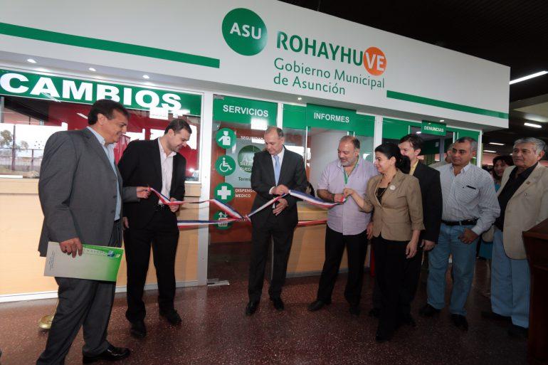 Nuevas Oficinas Informativas fueron habilitadas en la Terminal de Ómnibus de Asunción