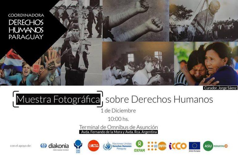 Muestra Fotográfica sobre Derechos Humanos en la Terminal de Ómnibus de Asunción